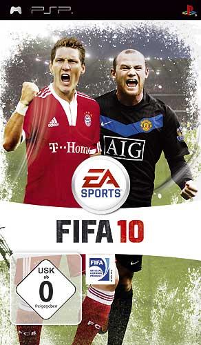 Информация об игре Название: FIFA 10 Платформа: PSP Разработчик: EA Sports